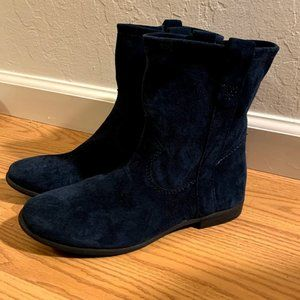 New Vince Camuto Women's Fanti Blue Ankle Boot